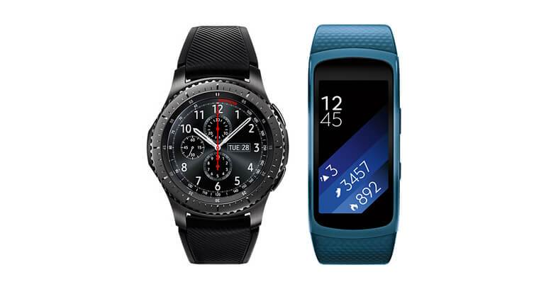 Samsung Gear Fit 2 vs Gear S3