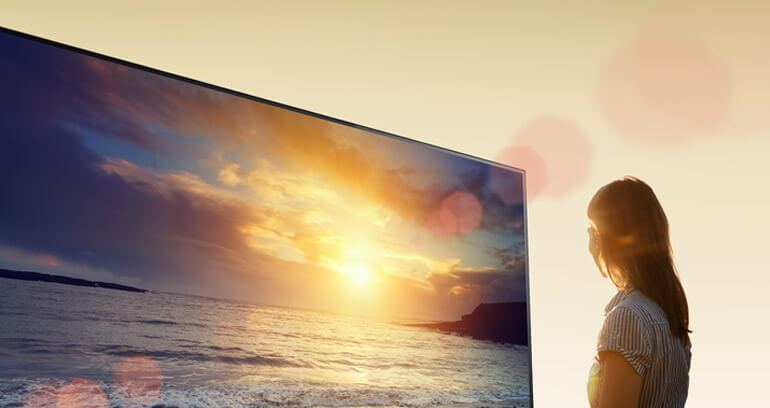 sony oled front
