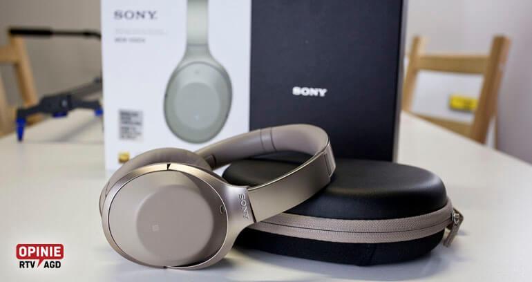 słuchawki noise canceling sony mdr 1000x test