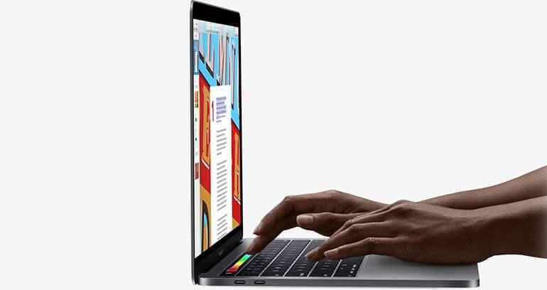 macbook pro klawiatura