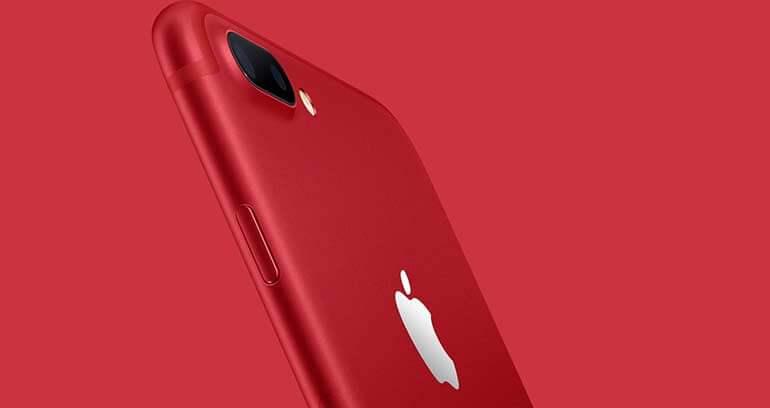 iphone 7 czerwona edycja
