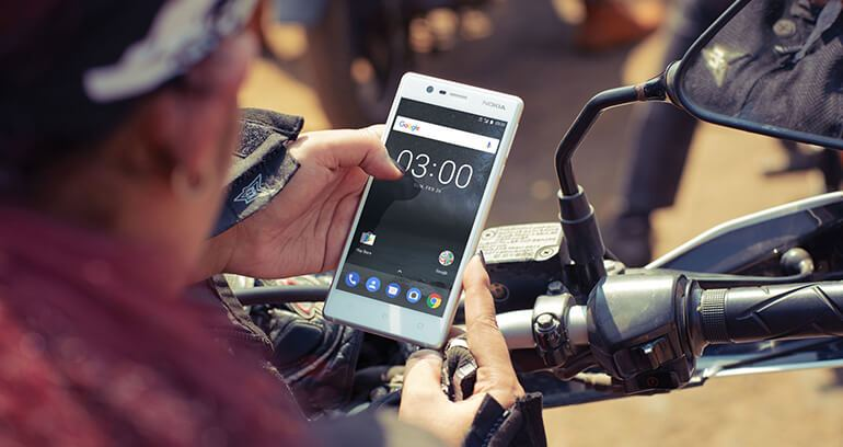 Nokia 3 aparat