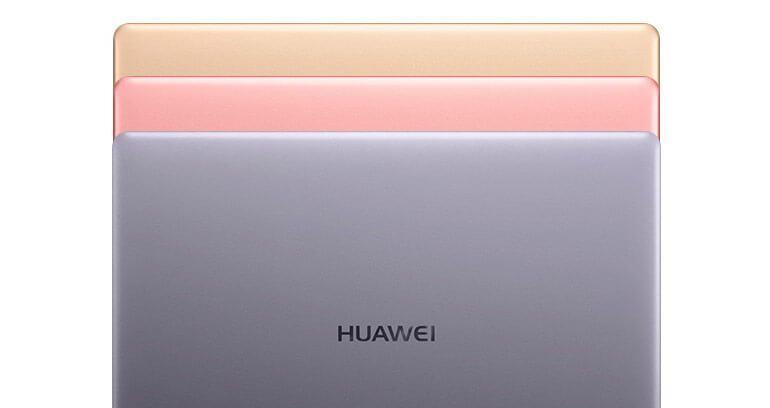 huawei matebook x kolory