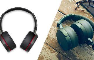 Porównanie słuchawek Sony xb950n1 i xb950b1