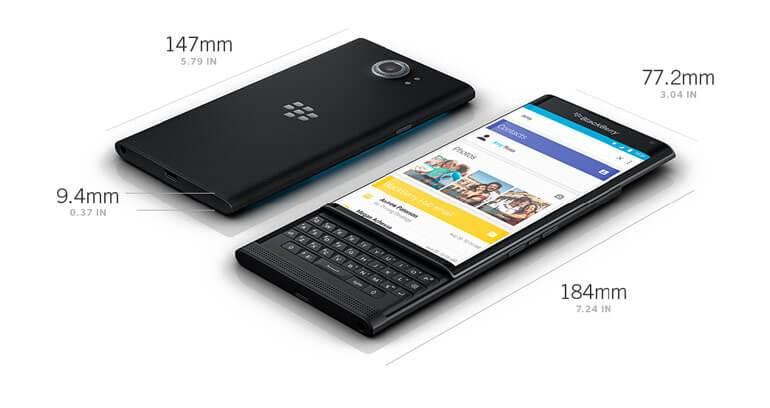 BlackBerry Priv dane techniczne