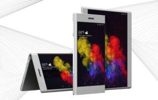Lenovo Folio - elastyczny tablet