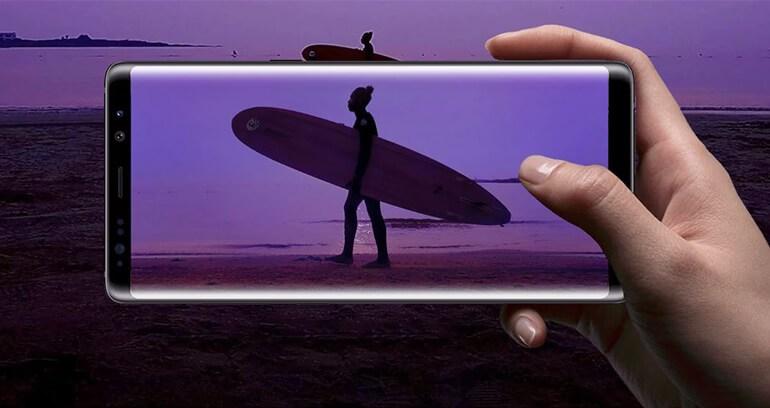 Samsung Galaxy Note 8 lepszy aparat