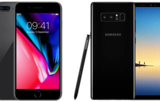 iPhone 8 Plus czy Samsung Galaxy Note 8 który wybrać