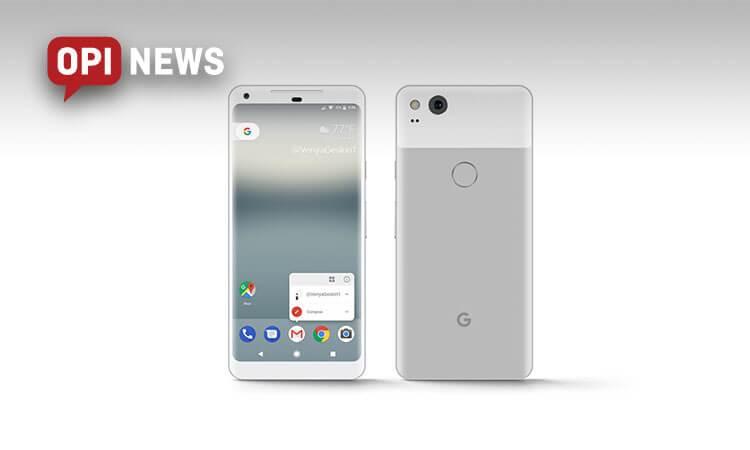 Jak wygląda google pixel 2?