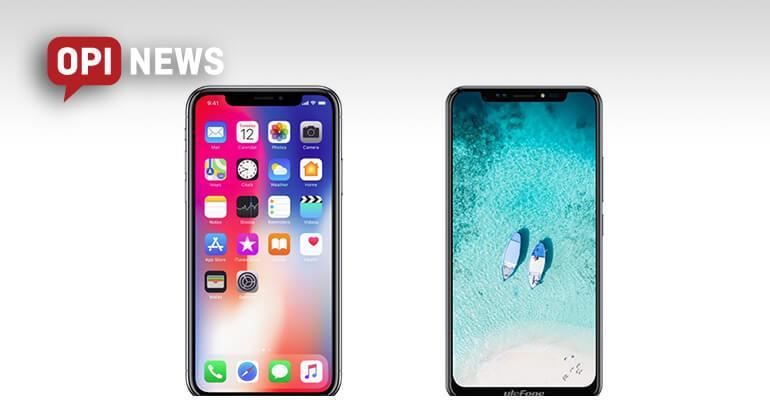 smartfon ulefone identyczny jak iphone X