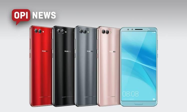 Huawei Nova 2s - oficjalne informacje