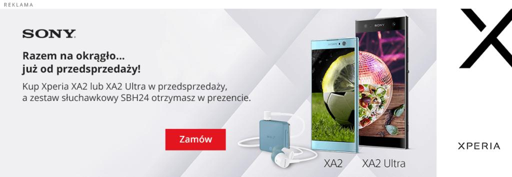 Xperia XA2Ultra w przedsprzedazy - gdzie kupić?