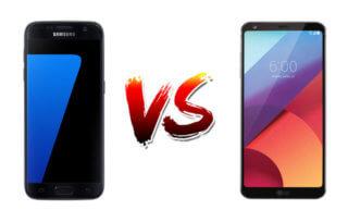 porównanie smartfonów galaxy S7 vs lg g6