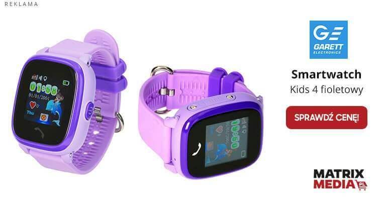 test smartwatcha dla dziecka garett kids 4
