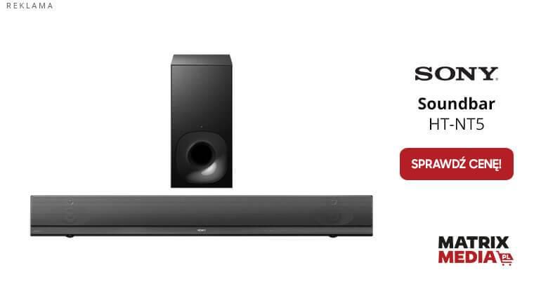 ile kosztuje soundbar soundbar HT-NT5?
