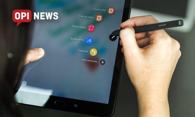 nowy tablet samsung z ekranem 10,5 cala na targach mwc