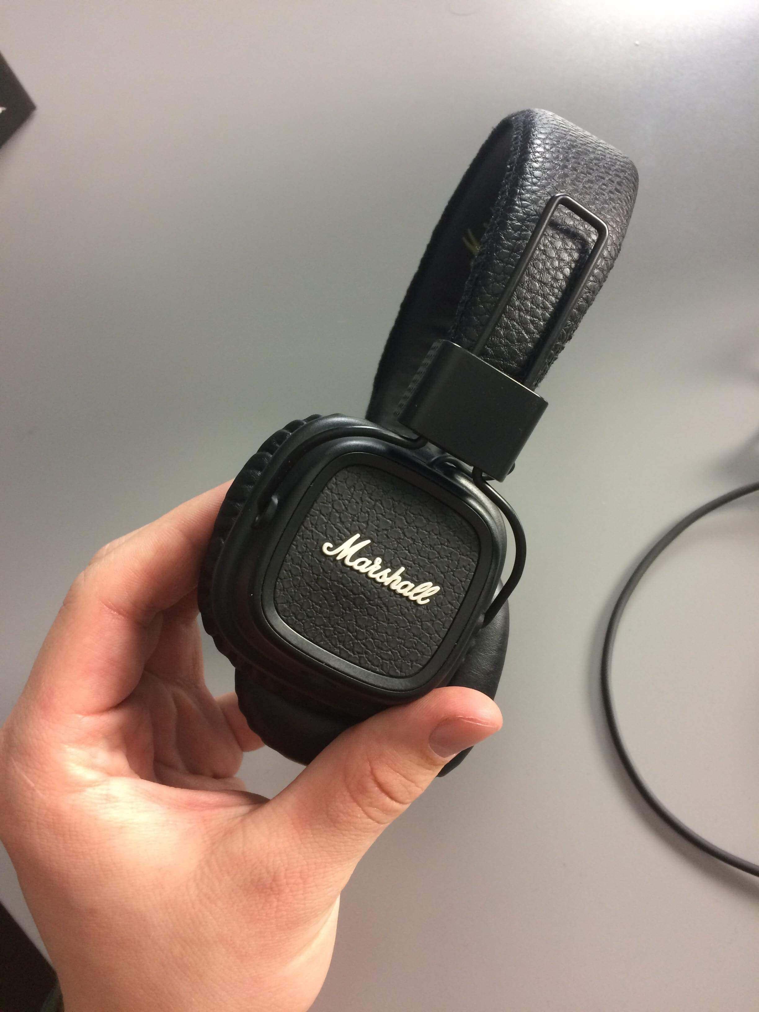 Jak wyglądają słuchawki marshall major 2