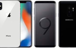 iPhone X vs Samsung Galaxy S9+ – test aparatów