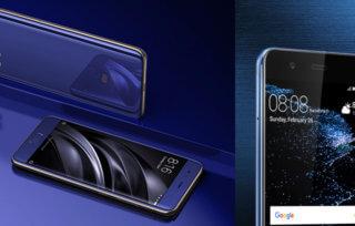 Xiaomi mi6 vs Huawei P10 - który smartfon premium wybrać?