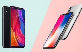 Czy Xiaomi Mi 8 jest podróbką iPhone'a X?