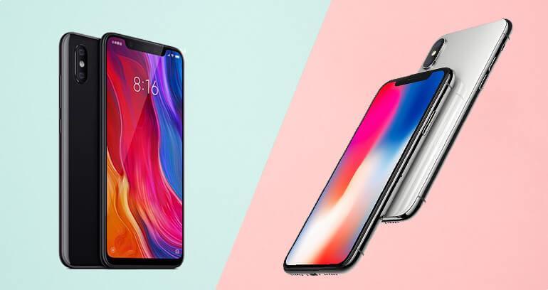 Czy Xiaomi Mi8 jest podróbką iPhone'a X?