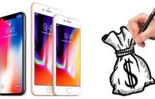 nowe wyświetlacze oled dla iphone'ów X