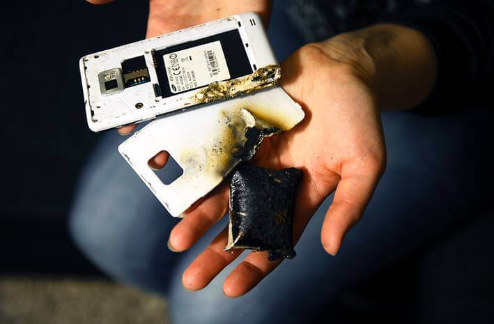 projekt baterii dla nowych smartfonów