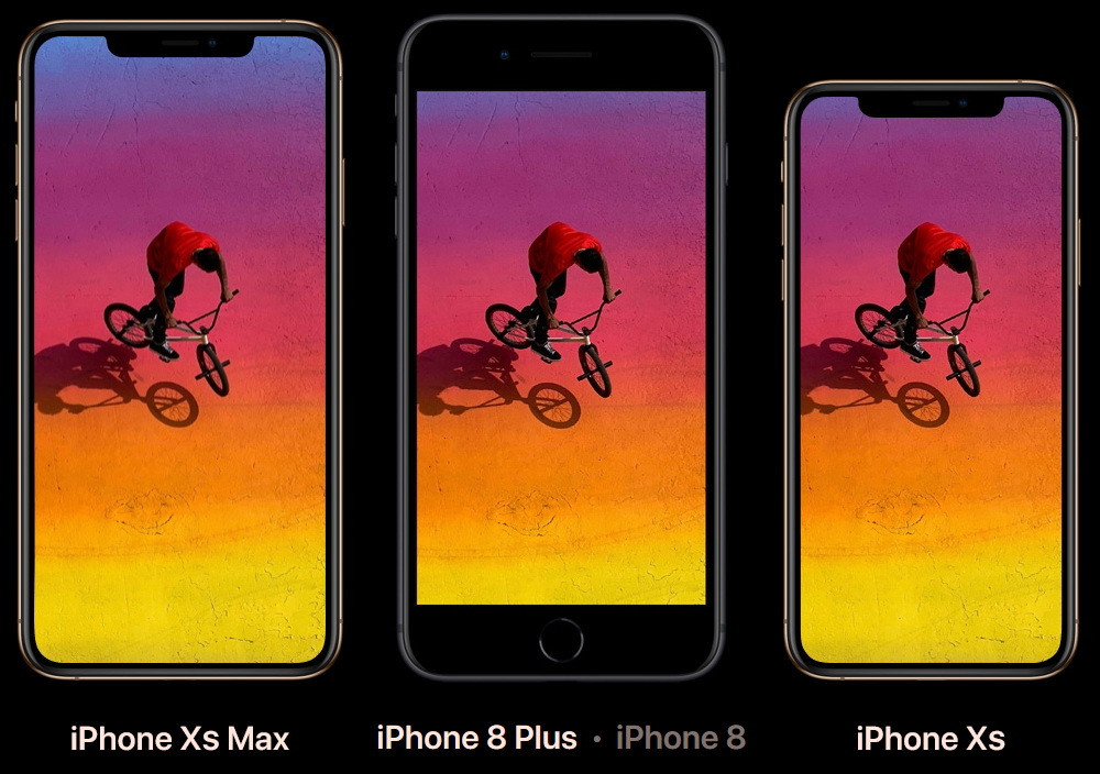 iphone xs max iphone 8+ iphone xs