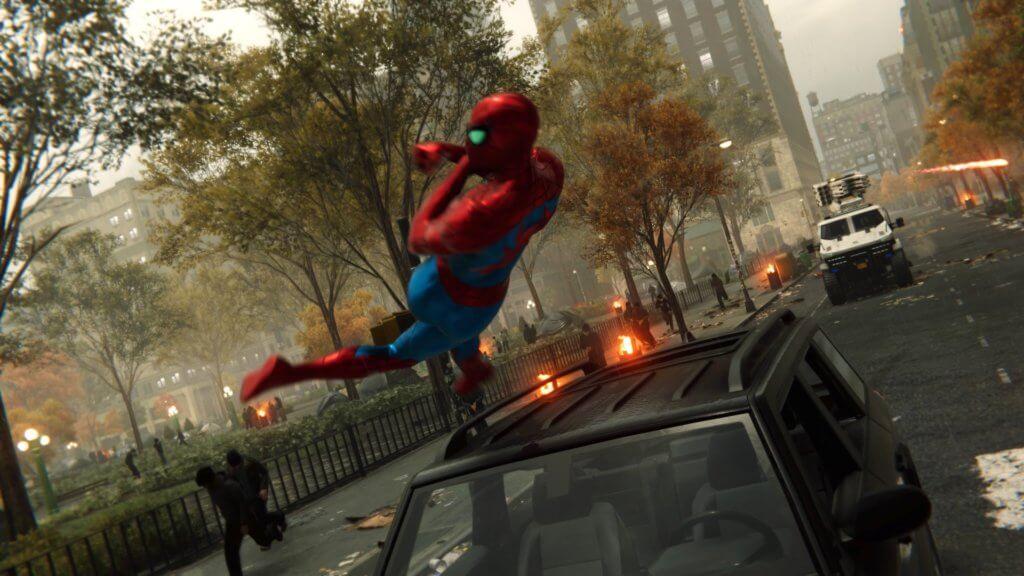 spider man - gra naps4 ips4 pro