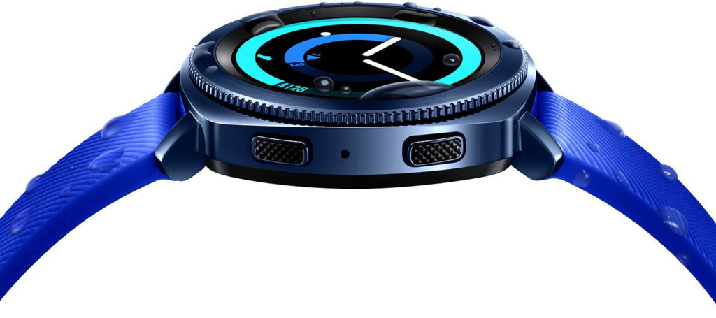 Smartwatch Samsung Gear Sport - design