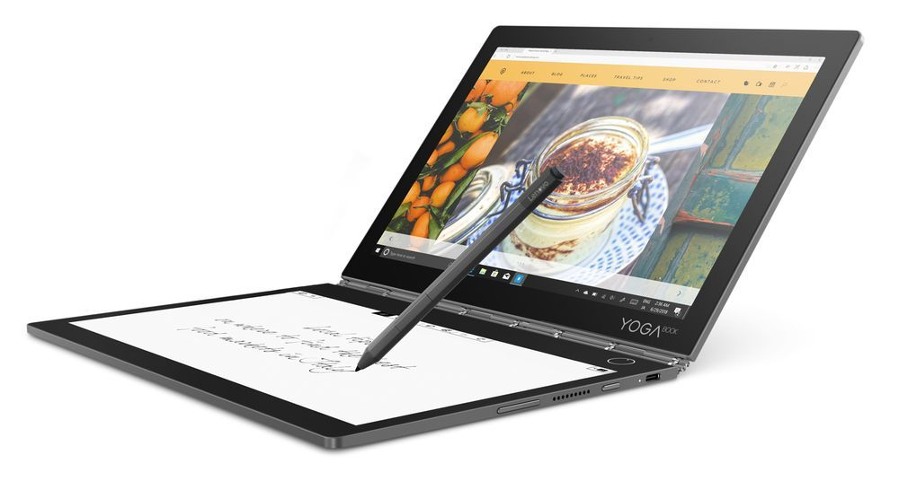 prezentacja laptopa Yoga Book C930