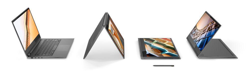 Nowe laptopy 2w1 z serii Yoga zaprezentowane przez Lenovo