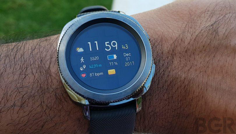 funkcjonalność Samsung Gear Sport