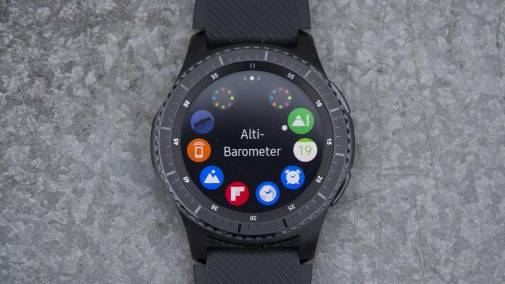 ekran Samsung Gear S3