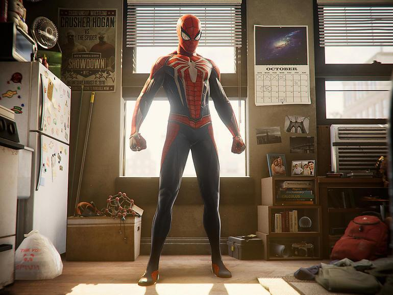 gra spider man na playstation