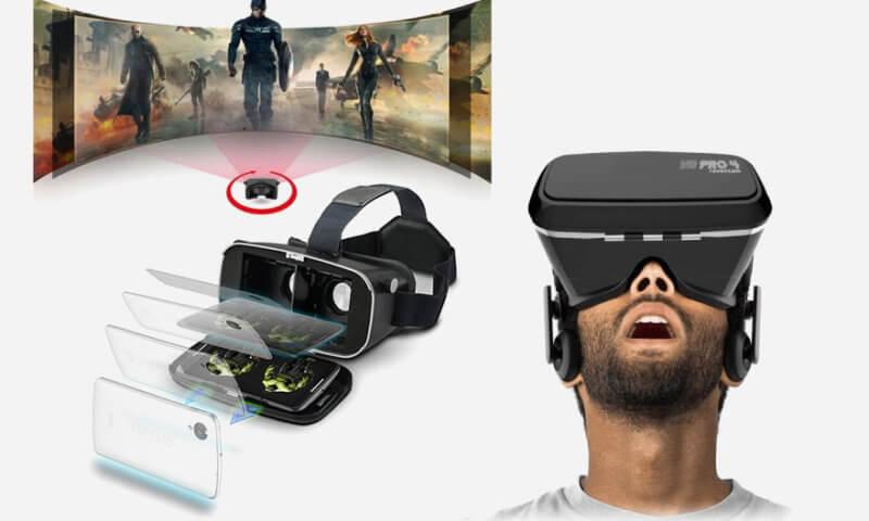 Okulary VR RAVENCAM Pro 4