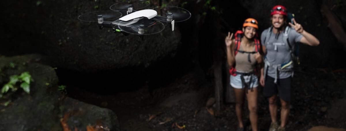 Dron DJI Mavic stabilizacja