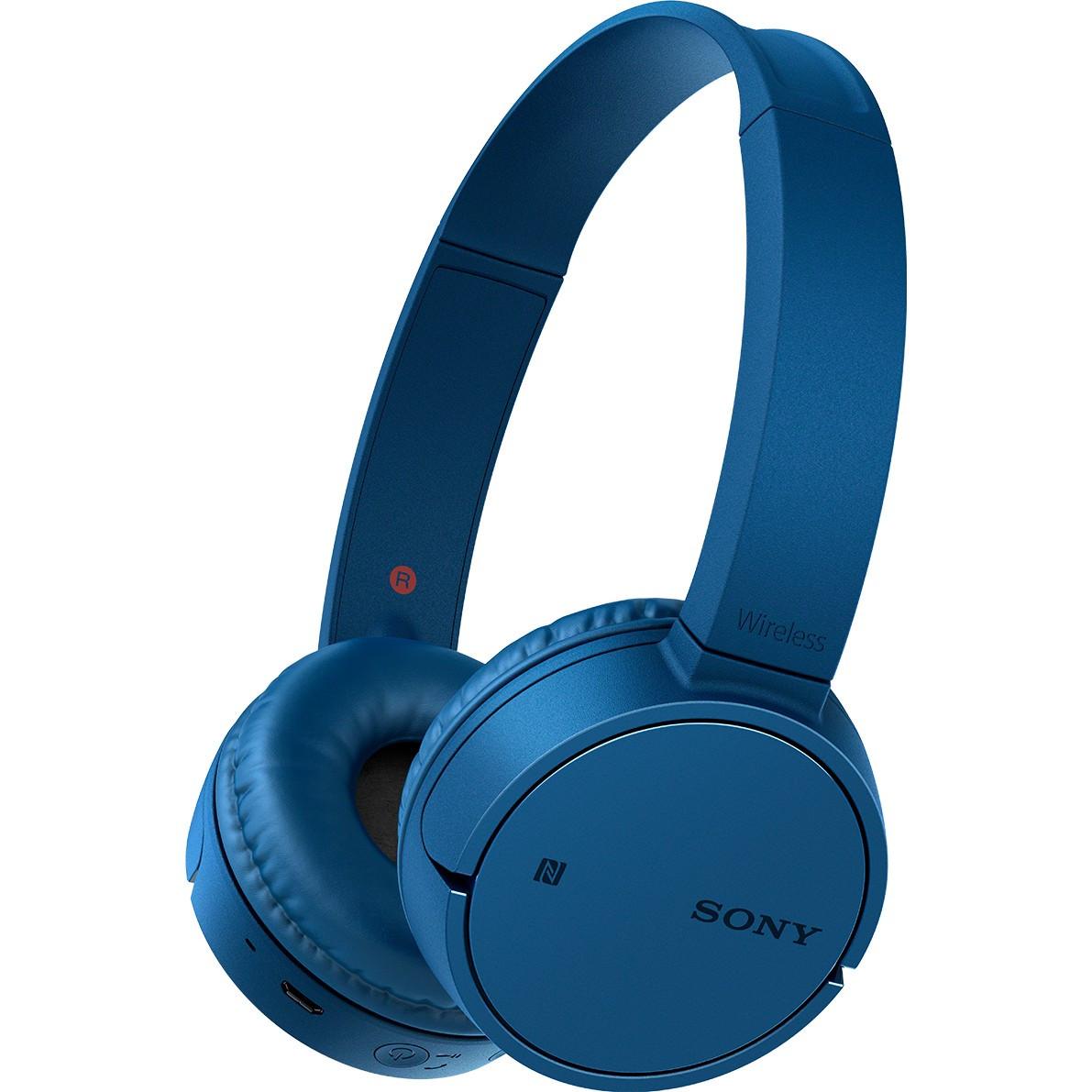 Niebieskie sluchawki SONY WH-CH500