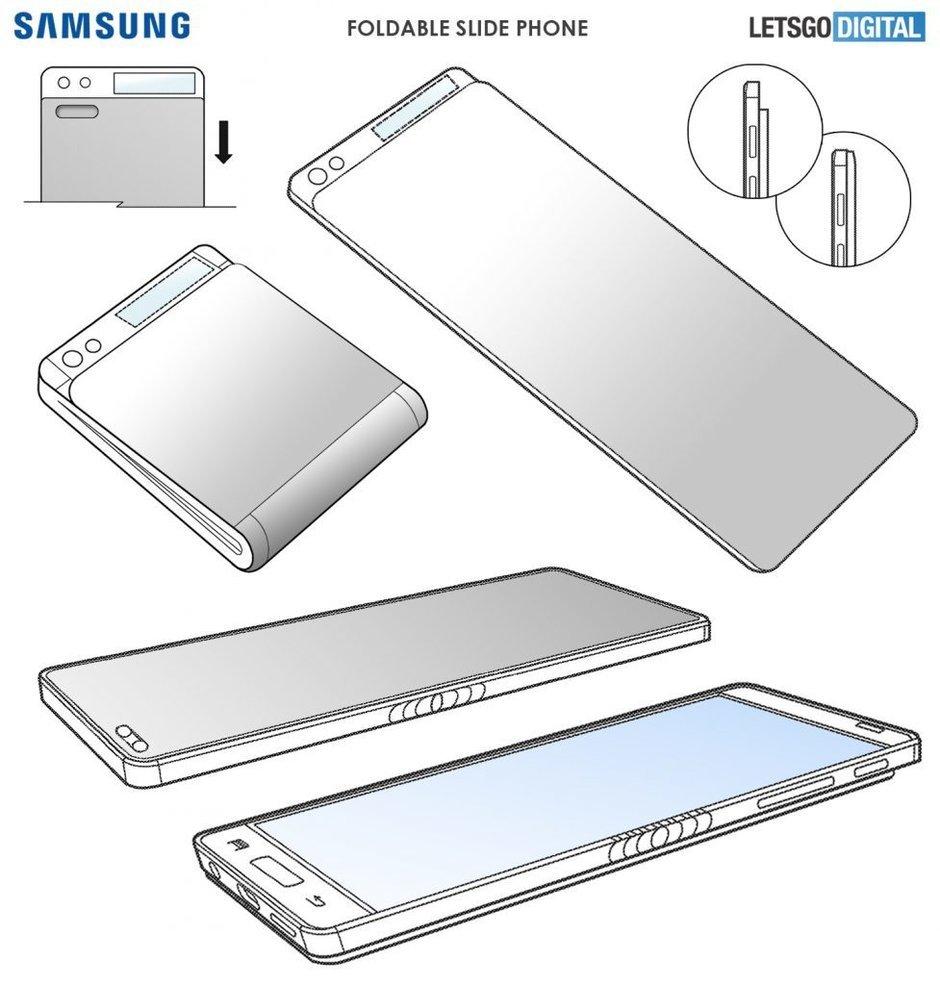 Przeciek patentu naSamsunga Galaxy F
