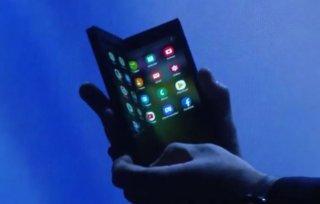 Jest i on! Samsung zaprezentował swój prototyp składanego telefonu! Poznajcie Infinity Flex Display