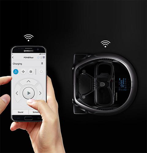 SAMSUNG POWERbot aplikacja mobilna