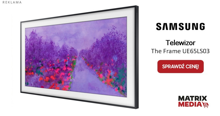 Telewizor Samsung The Frame ue65ls03 kupisz wmatrixmedia.pl