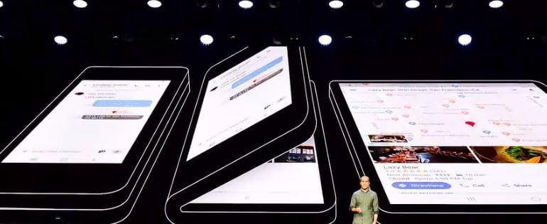 Samsung Infinity Flex prezentacja